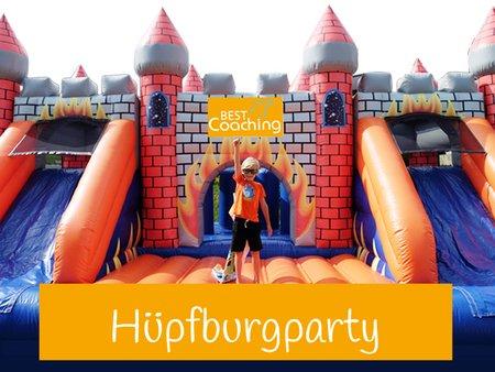 Hüpfburg Party